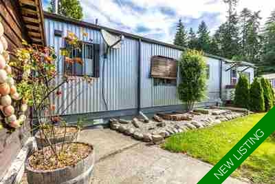 Sechelt District Manufactured home for sale:  2 bedroom 815 sq.ft. (Listed 2017-07-01)